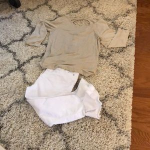 Tommy Bahama tan  top